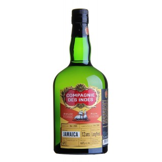 Compagnie des Indes Rum Jamaica LONG POND Distillery 12 Years Old
