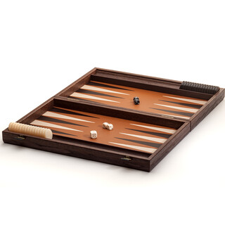 Backgammon Volleder im Alligatordesign