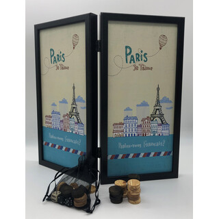 Backgammon Travelsize -Paris