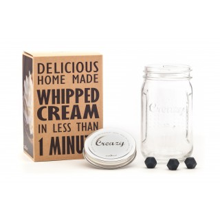 CREAZY JAR - easy whipped cream